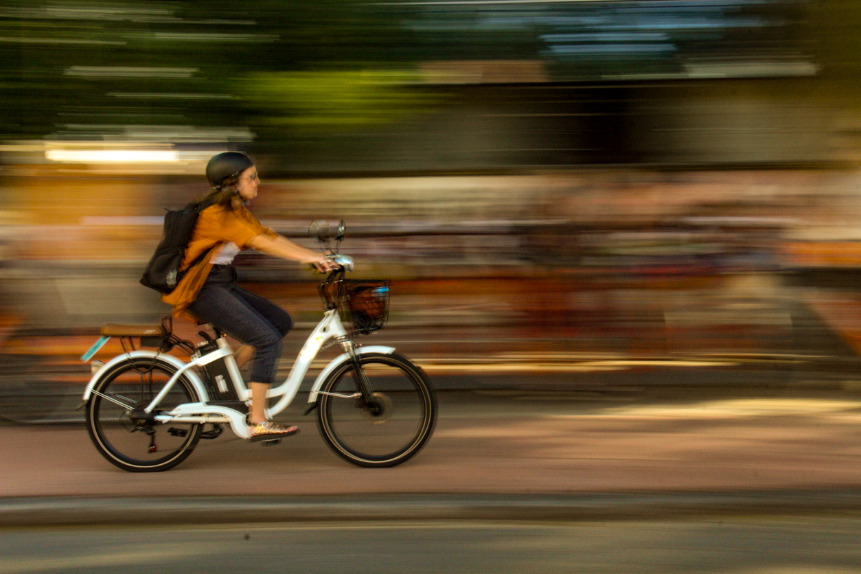 E-bike VC Climate Mitigation iStock-1133394357